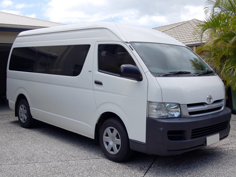 Toyota Hiace - Current price contact the number above.