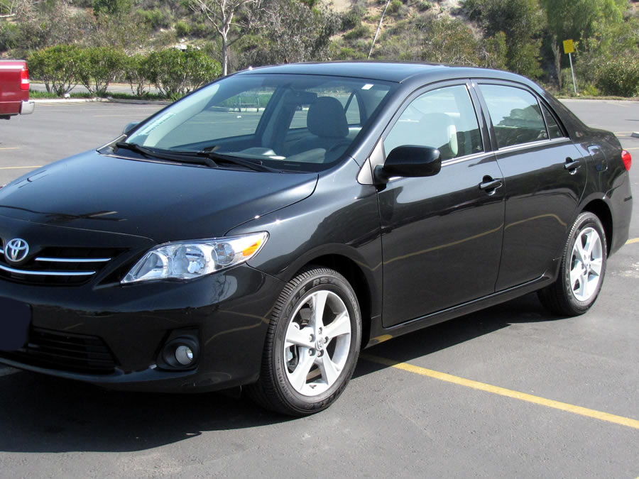 Toyota Corolla 2013 - Current price contact the number above.