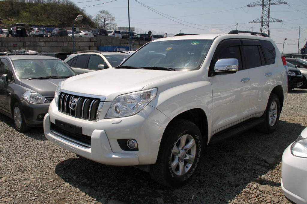 Toyota Land Cruiser Prado- Current price contact the number above.
